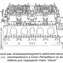 """04) Двигатель Дизеля для ПЛ """"Акула"""""""