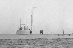 08) «Акула» на Кронштадтском рейде