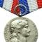11) Серебряная медаль французского Президента (Médaille du Président de la République)