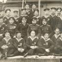"""Фото 1. Экипаж ПЛ """"Минога"""" в ноябре 1915 г."""