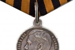 01) Георгиевская медаль 4-й степени
