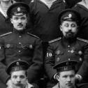 """4. Фрагмент снимка экипажа подводной лодки """"Акула"""", осень 1914 г."""