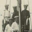 """Фото 4. Задний план снимка экипажа ПЛ """"Акула"""", 1912 год."""