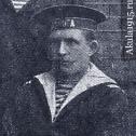 """Фото 1. Сигунов Андрей Иванович во время службы на ПЛ """"Минога"""", 1913 г."""