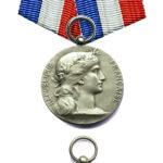 Серебряная медаль французского Президента