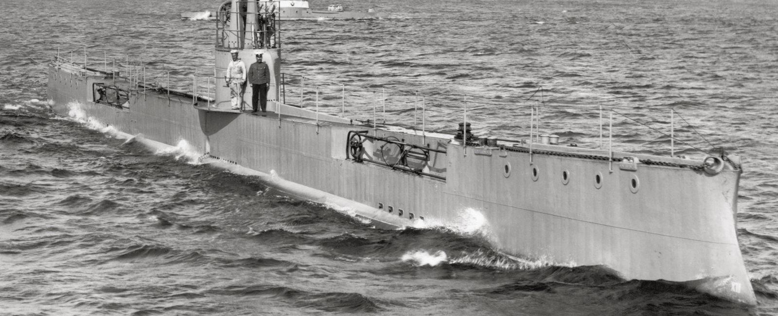 """Подводная лодка """"Акула"""" 1907-1915"""